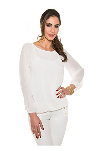 KouCla - Débardeur - Femme Blanc - blanc