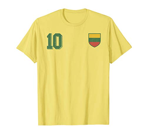 Lithuania or Litauen Fußball or Football Trikot  T-Shirt