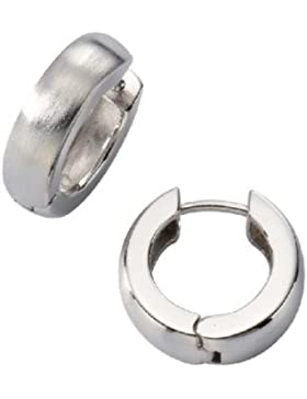 ZEEme Damen-Creolen 925 Sterling Silber 13.8 mm 273210214R-1