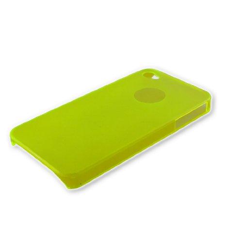 Xcessor Dark Magic Ultra Thin Hartplastik Fall für iPhone 4/4S–parent, Purple/Semi Transparent, 4S Yellow/Semi Transparent