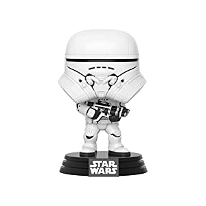 Funko- Pop Star Wars The Rise of Skywalker-First Order Jet Trooper Disney Figura Coleccionable, Multicolor (39899)