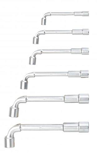 11 chiavi a pipa 8/10/11/13/17/19 mm .