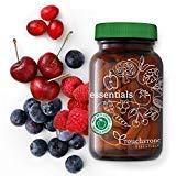 Essentials Vitaminas y Minerales de Alimentos Orgánicos Integrales – 26 Súper Alimentos Frutas y Vegetales Orgánicos para una Nutrición Completa + Enzimas Digestivas – Vegano (Dosis para 30 días)