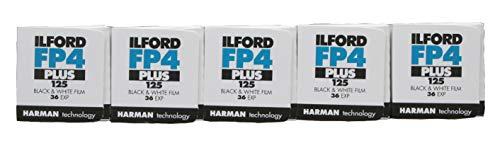 Ilford fp4 +, 35mm / 36 belichtungen, 5 Rollen