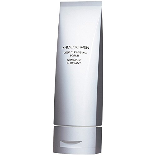 Shiseido Men Deep Cleansing Scrub, 1er Pack (1 x 125 ml) -