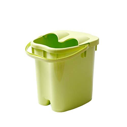 Fußbad Barrel Dicker Kunststoff Massage Fußbad Erhöhung Haushalt Fußbad 20L Große Kapazität Hoher Wasserstand -