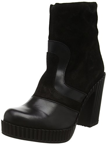 FLY London Gram741fly, Bottes Classiques Femme Noir (Black 000)