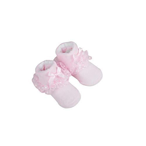 BBsmile -Calcetines de recién nacido/Patucos bebé de algodón 0-24 meses