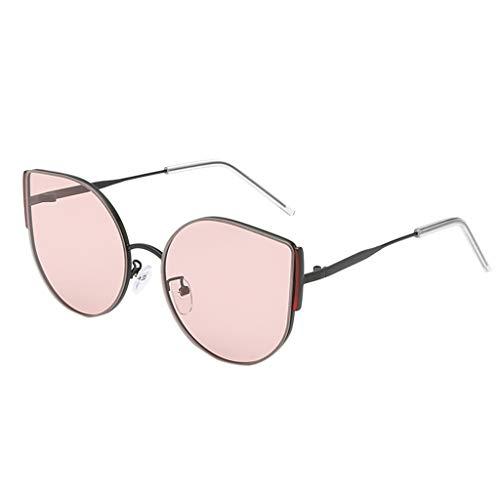 Mymyguoe Gafas de Sol para Hombres y Mujeres Moda Hombre Mujer Forma Irregular Gafas de Sol Gafas Vintage Retro Estilo