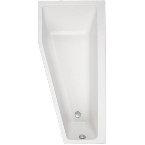 Villeroy & Boch Badewanne RE Offset Subway 170x80cm weiß (alpin), UBA178SUB3REV01