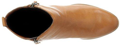 Lauren Ralph Lauren Shira Cuir Bottine Polo Tan
