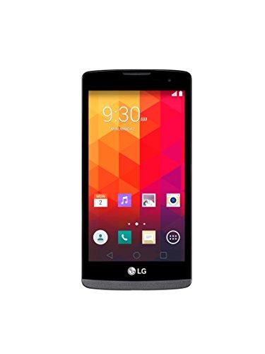 'LG Leon 4G–Smartphone Libero Android (Schermo 4.5, fotocamera 5MP, 8GB, quad-core 1.2GHz, 1GB RAM)