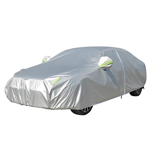 CAOYU Car Hood Car Clothes Car Cover Oxford Cloth Sunscreen Insulation Rain Cover Cover (Color: A, Size: Toyota-Roomy)