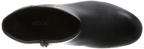 Black Ecco 1001 Kurzschaft Damen Schwarz Stiefel PAILIN qZwf7xU4
