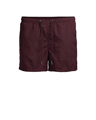 JACK & JONES Herren Badeshorts Jjisunset Swim Shorts Ww Sts Violett (Burgundy Burgundy)
