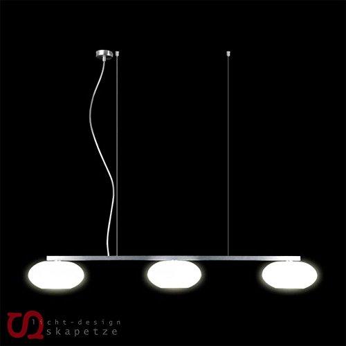 Balken-Pendelleuchte 3-flammig AIH Farbe: Weiß matt - Casablanca Drei Licht