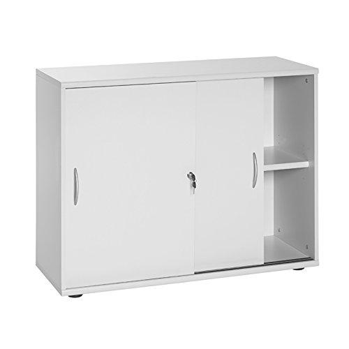 Brombel Set hellgrau Container Broset Aktenregal Aktenschrank Schreibtisch