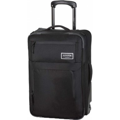 DAKINE Herren Carry ON Roller Reisetasche, Black, One Size (Samsonite-roller, Laptop-tasche)