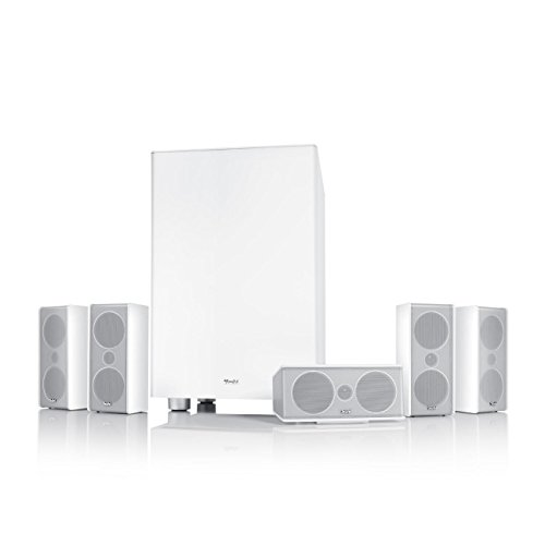 "Teufel Consono 35 Mk3 ""5.1-Set"" Weiß Film subwoofer Lautsprecher movie Musik Raumklang sound heimkino 5.1 Soundanlage Kino"