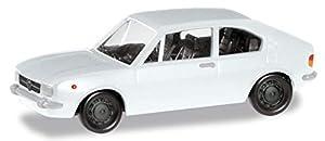Herpa 024549-005 Alfa Romeo Alfasud Ti - Coche para Manualidades y coleccionar, Color Blanco