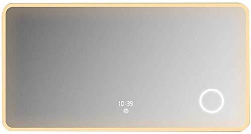 LLG Household Items& Smart Touch Screen Led Anti-vaho Espejo de baño Cuarto de baño de Pared Espejo...