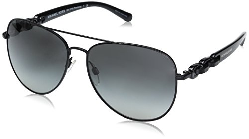 Michael Kors Damen PANDORA 113111 58 Sonnenbrille, Matte Black/Gradient,