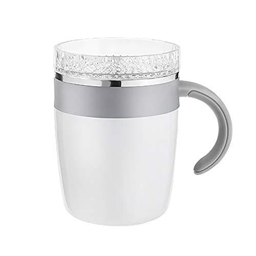 SODIAL Keine Batterie Automatische Selbst Rühren Becher Tasse Kaffee Milch Mischen Becher Intelligente Temperatu Reinstellung Saft Mix Tasse Trink für Geschenk - Saft-mix