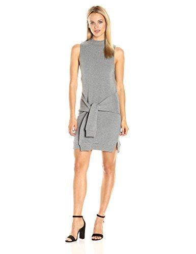 kensie Damen Fleece-Kleid - grau - Mittel