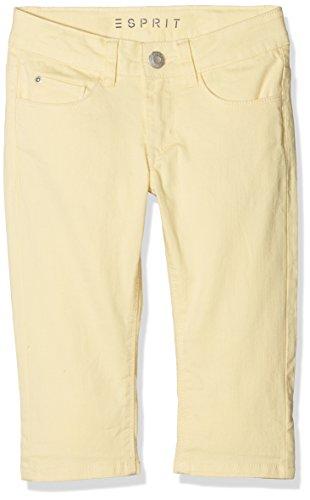ESPRIT Mädchen Shorts BERMUDA_RJ22185, Gelb (Pale Yellow 722), 146 (Shorts Mädchen Gelb)