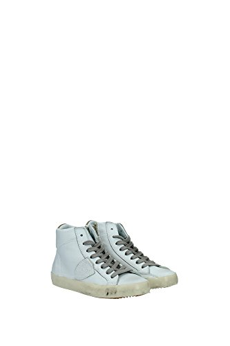 CLH0L05B Philippe Model Sneakers Kind Leder Weiß Weiß