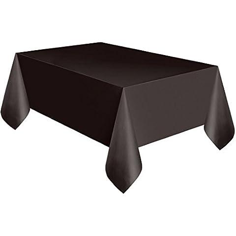 Nero in plastica per tavolo panno pulire partito Tovaglia rotonda