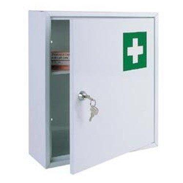 #Medizinschrank Metall – TüV geprüft – mit Schlüssel#