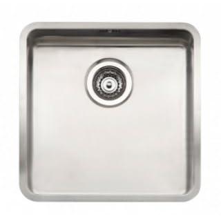 Reginox Ohio 80x42 1.0 Bowl Satin Stainless Steel Undermount Kitchen Sink