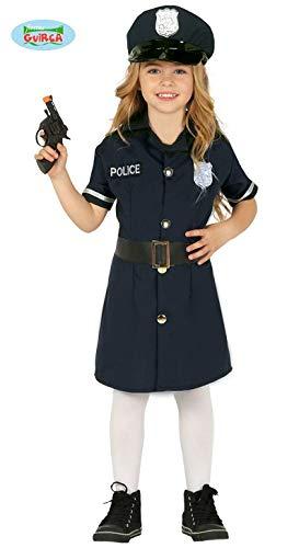 Polizei Mädchen Kostüm - Fiesta Guirca Polizistin Polizei Kostüm Kinder Mädchen Polizeikostüm
