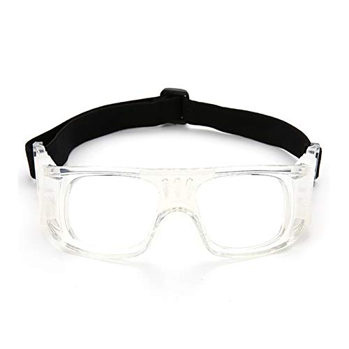 LFF SPORT Sportbrillen Fussball Schutzbrille Brillen Anti-Fog UV-Schutz Outdoor Sports Brille für Basketball-Fans Kann mit Myopie Ausgestattet Werden,D