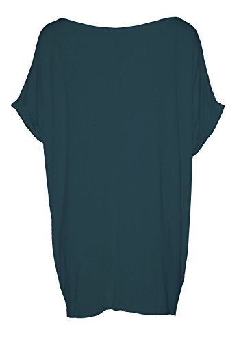 FK Styles -  Maglia a manica lunga  - Donna Teal