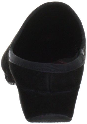 Fortuna Sacchetto 410009-03, Pantofole donna Nero (Schwarz (schwarz 001))