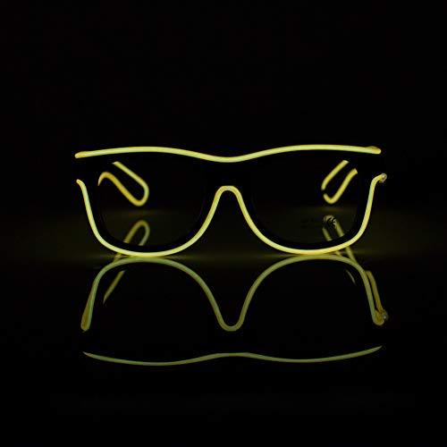 478fc0c4d7 BEAUTOP LED EL Fil Lunettes d éclairage à Lunettes Cool Eyewear