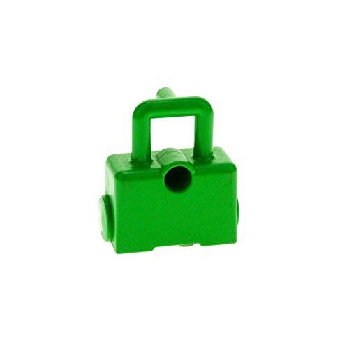 1 x Lego Duplo Tasche bright hell grün Koffer mit Rollen Rolli für Intelli Eisenbahn Puppenhaus Figur Zubehör für Set 3771 42398