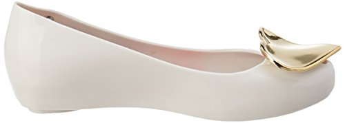 VIVIENNE WESTWOOD AND MELISSA Damen Vw Ultragirl 19 Peep-Toe White (White Heart)