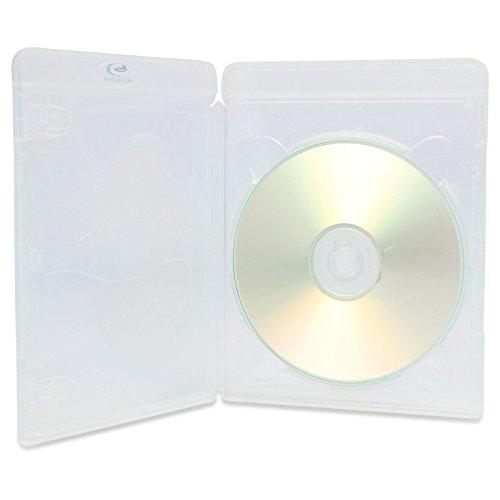 10x AMARAY Vortex eco-lite Single 3D Klar 1-disc Blu Ray Hüllen (Geprägte Grafiken)