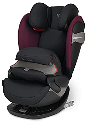 Cybex Gold 2-in-1 Kinder-Autositz Pallas S-Fix, Für Autos mit und ohne ISOFIX, Gruppe 1/2/3 (9-36 kg), Ab ca. 9 Monate bis ca. 12 Jahre