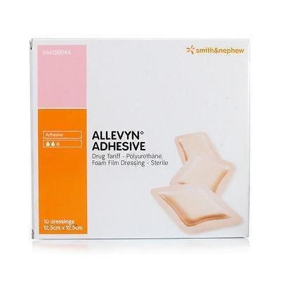 ALLEVYN selbstklebend Classic, 12,5cm x 12,5cm x10(66000044)-Wunden, Geschwüre -