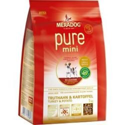 Mera Dog Pure Mini Truthahn& Kartoffel   3kg Hundefutter