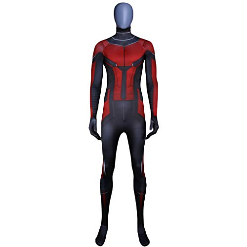 QWEASZER Ant-Man Wasp Cosplay Kostüm Kostüm Film Rollenspiel Kleidung Erwachsene Bodysuit Spandex Jumpsuits,A-S (Ant Man Film Kostüm)
