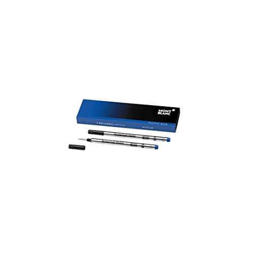 Preisvergleich Produktbild Montblanc 2 Rollerballminen Pacific Blue M (mittel) 105159