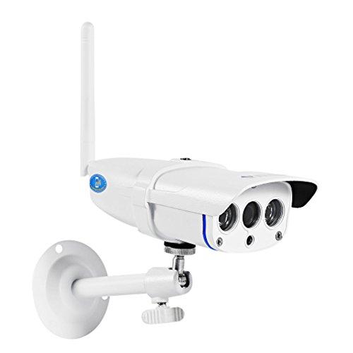 AHECE Außen Wasserdicht HD 1280x720P Wlan IP Überwachungskamera Kamera-Sicherheitssystem IP-Kamera Camera Wireless Drahtlos Outdoor, IP67 Wasserdicht, Bewegungserkennung, Nachtsicht