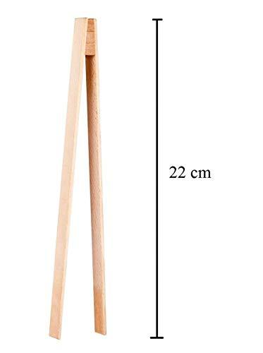kela 19123 Pince Spaghetti Fresh 22,5cm en Acier Inoxydable 22,5 x 5,5 x 3 cm Argent