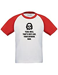 Brand88 - Yeah, Well, That's Just, Like, Your Opinion, Man Camiseta De Manga Corta Para Niños