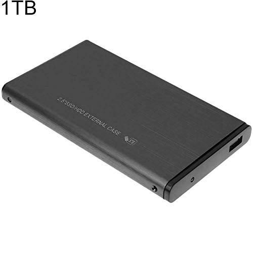 "interslife - Disco Duro Externo portátil (500 GB, 1 TB, 2 TB, 2,5"", USB 3.0) 1tb Negro"